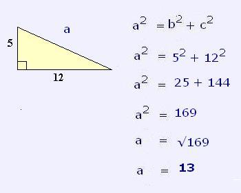 Resultado de imagen de problemas de pitágoras